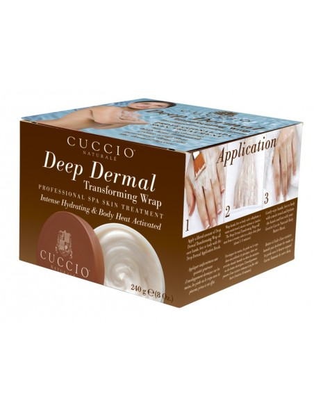 Deep Dermal Mask for Hands & Feet with application brush
