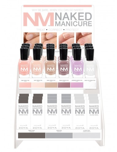 Zoya Naked Manicure Ultimate Manicure Display