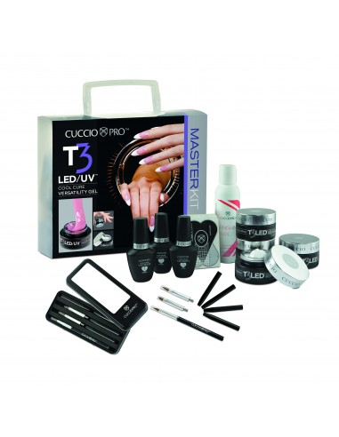 Cuccio Pro T3 LED/UV GEL MASTER KIT Controlled Leveling