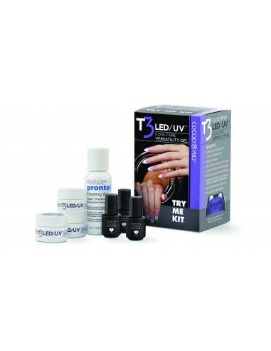 Cuccio Pro T3 LED/UV GEL TRY ME KIT