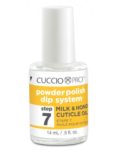 Cuccio Pro Powder Polish - Cuticle Oil Milk & Honey - Step 7