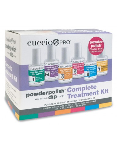 Cuccio Pro Dipping Powder 6-Pack Treatment Kit