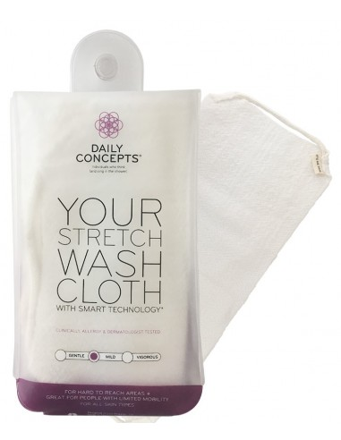 DAILY CONCEPTS YOUR STRETCH WASH CLOTH